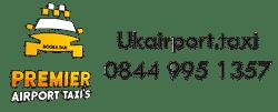 Premier Taxi - London airport car transfer service UK